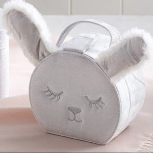 NWT Small Bunny Critter Jewelry Case.